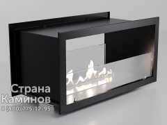 Биокамин Straight 80 Glass